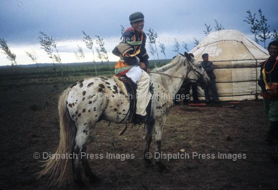 Mongol Horse and Yurt