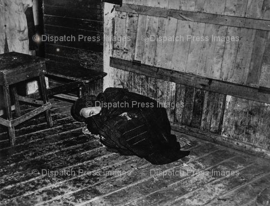 Woman Asleep on the Floor
