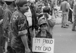 Vietnam Vet and Son